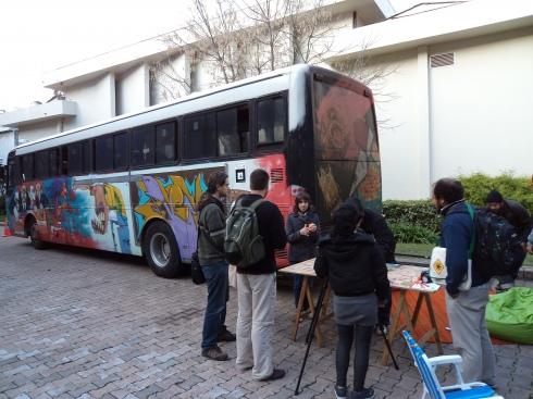 Ônibus Hacker no Fórum Internaciona de Software Livre - FISL