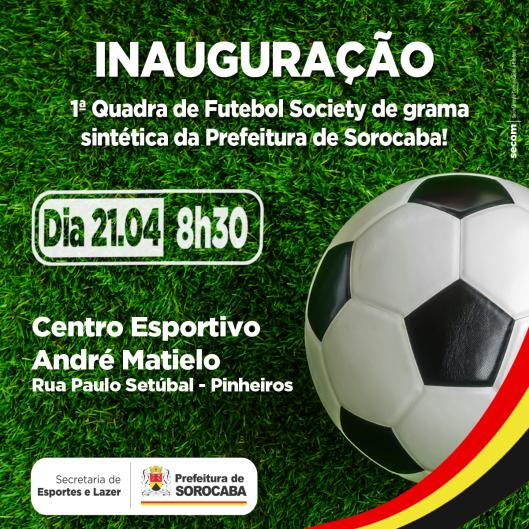 Quadra de Futebol Society de Sorocaba