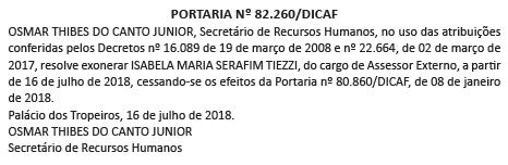 Assesora Brasilia é exonerada
