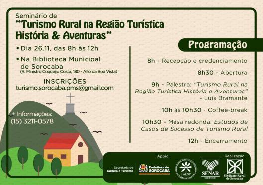 Seminário de Turismo Rural